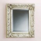 33629 Antique Silver Finish Wall Mirror