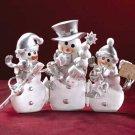 33748 Snowman Trio Screen