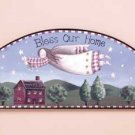 """33776 """"Bless Our Home"""" Angel Door Crown"""