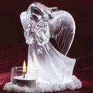 33850 Praying Angel Candle Holder