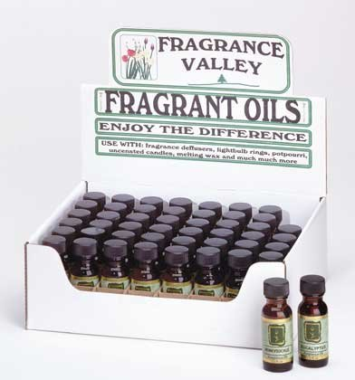 34030 4 DZ Fragrance Valley Oils (Retail - 4.99ea)