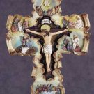 34090 Life of Jesus Scroll Wall Cross