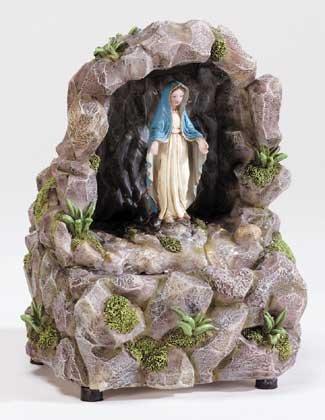 34160 Virgin Mary Desk Fountain