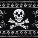 34166 Skeleton Pattern Cotton Sheet