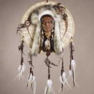 "34167 Wicker Faux ""Medicine Wheel"""