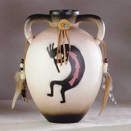 34233 Kokopelli Ceramic Jug