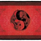 34363 Dragon Print Cotton Sheet