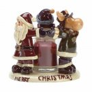 34580 Christmas Friends Candle Holder