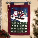 34672 Plush Christmas Hanging Calendar