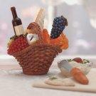 34845 Wine-Cheese Spreaders & Basket Set