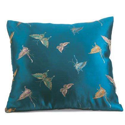 35042 Butterfly Design Satin Pillow