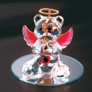 35073 July Glass Angel Bear