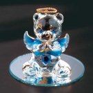 35075 September Glass Angel Bear