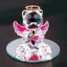 35076 October Glass Angel Bear
