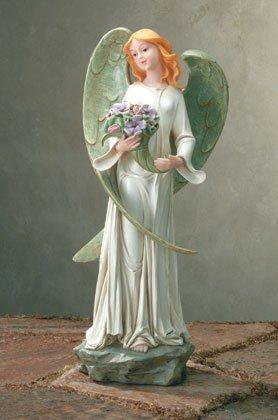 35121 Botanical Angel Garden Sculpture