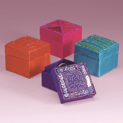 35220 Mini Keepsake Sequin Boxes