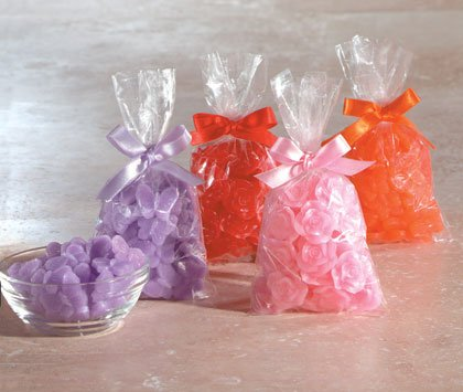 35225 Butterfly and Rose Wax Chips