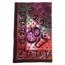 35339 Om Sanskrit Design Cotton Sheet