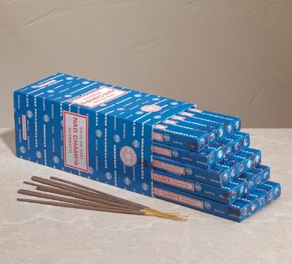 35344 25 Nag Champa Incense Stick Boxes (Retail - 1.99ea)