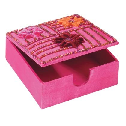 35538 Embroidered Memo Pad Holder