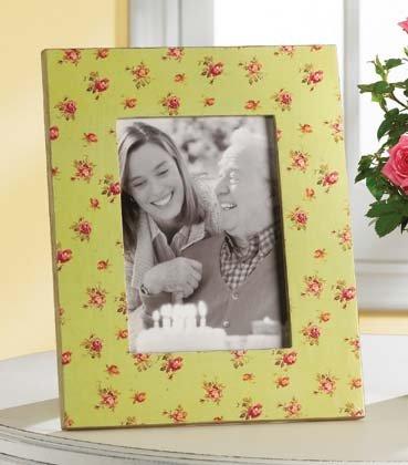 35626 Roses Wood Photo Frame