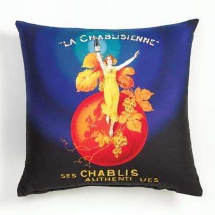 36778 Sublimated Art Pillow - La Chablisienne