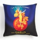 36778 Sublimated Art Pillow - La Chablisienne