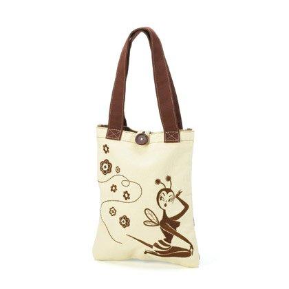 36868 Bee Girl Small Bumble Tote Bag