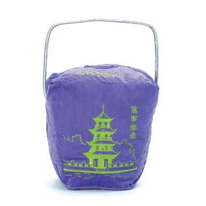 36877PUR Purple Chinese Take-Out Pillow