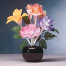 35254 Fiber Optic Animated Floral Bouquet