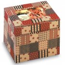 34874 American Country Fabric Photo Box