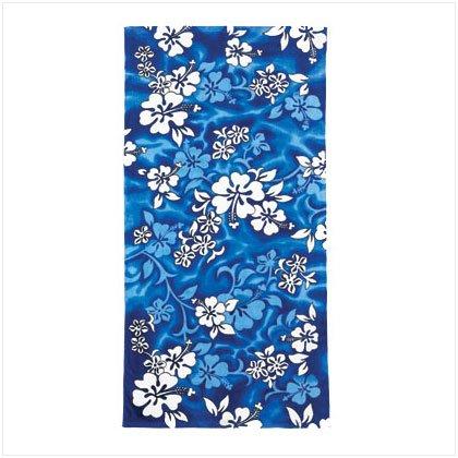 36018 Beach Towel Blue Hyacinth