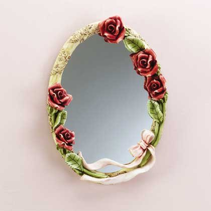 32180 Red Roses Wall Mirror
