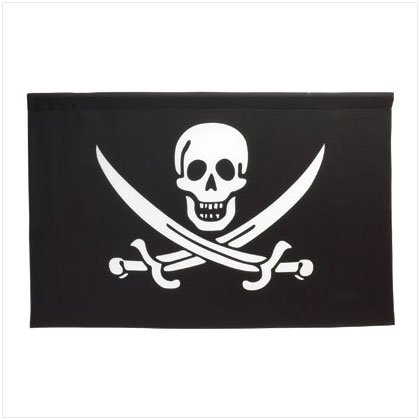 36351 Jolly Roger Wall Banner