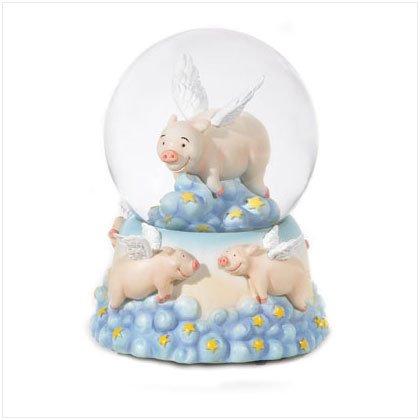 36171 Flying Pigs Snowglobe