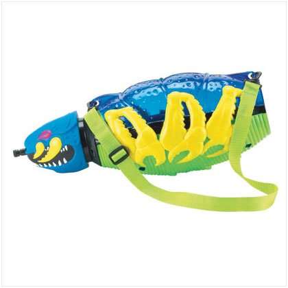 36977BLU Giant Water Worm Blue