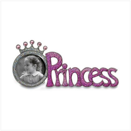 "36493 ""Princess"" Crown Pewter Frame"