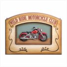 36686 Wild Ride Motorcycle Plaque