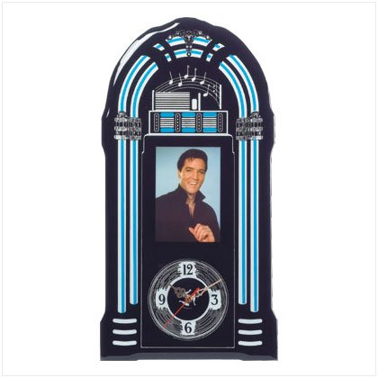 36714 Elvis Jukebox Wall Clock