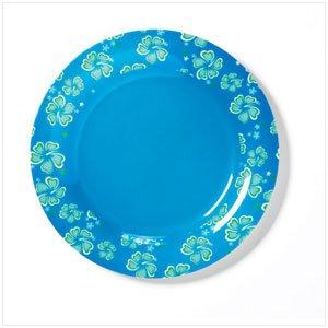 36680  BLUE HAWAIIAN SALAD PLATE