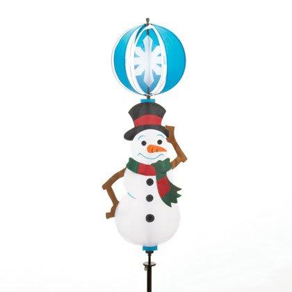90034 Snowman 3D Spinning Yard Decor