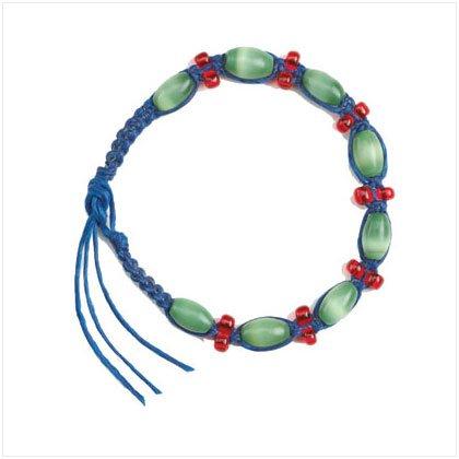 36908 Blue Green Friendship Bracelet