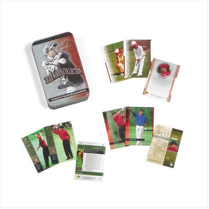 37039 Tiger Wood Collectible Cards