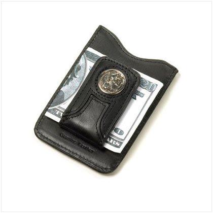 36465 Leather Money Clip Wallet