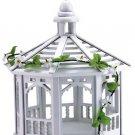 30209 White Gazebo Bird Feeder