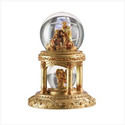 31137 Golden Palace Snow Globe
