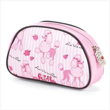 37253 Poodle Makeup Bag