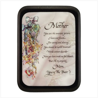 25307 Mother's Wall Plaque
