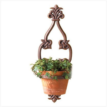 37303 Grated Wall Planted Pot Holder