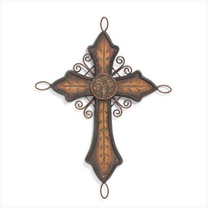 37304 Old World Cross Decor